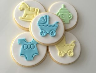 baby Shower Cookies Basket