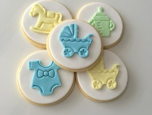 baby Shower Cookies Basket