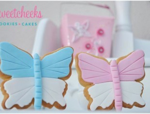 Birthday Butterfly Cookies shipped Australia wide