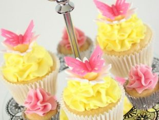 Butterfly childrens cupcakes