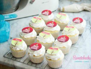 Christmas Corporate Cupcakes