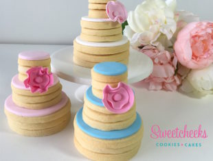 Cookie Stack Wedding Cakes