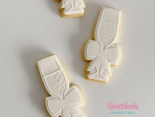 Custom_Champagne_Glass_Cookies_Melbourne