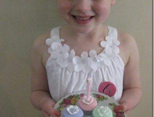 Kids Teaparty mini cupcakes