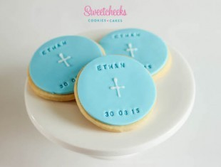Christening Cookie Favours Shipped Australia wide