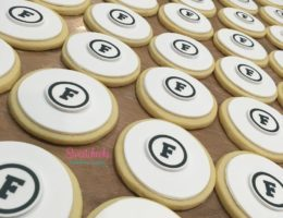 Custom Logo Cookies
