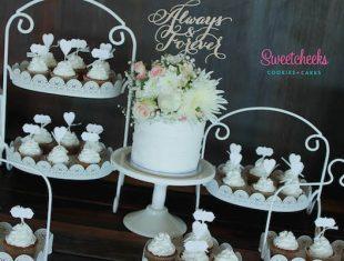 Buttercream Same sex gay Wedding Cakes and Cupcakes