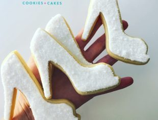Bridal Shoes Cookies