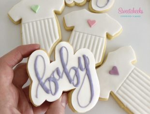Hand-Piped-Baby-Shower-Custom-Cookies-Melbourne