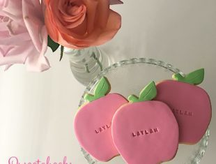 Apple Cookies personalised and shipped Australia wide