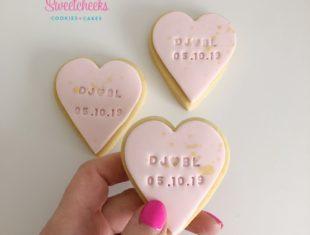 Mini-Heart-Wedding-Custom-Stamped-Personalised-Cookies-Melbourne