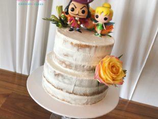 Naked Cake Same Sex gay wedding cakes