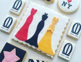 Custom Oglia Loro Gown Cookies