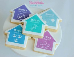 Custom Logo Cookies Shipped Australia Wide