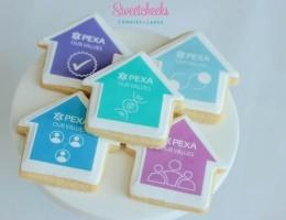 Custom Logo Cookies Shipped Australia Wide