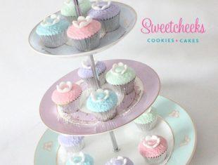 Afternoon Tea Desserts mini cupcakes