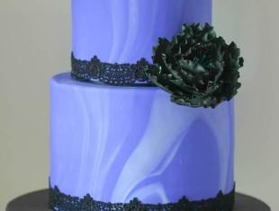 Marble Same sex gay Wedding Cakes Gothic