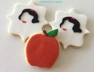Custom SnowWhite Themed Apple Cookies