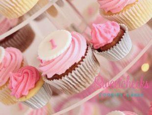 First Birthday Cupcakes