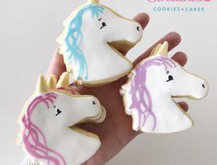 Custom Unicorn Cookies Shipped Australia Wide