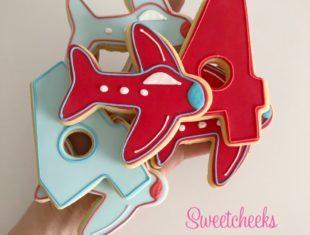 Custom-Cookies-Vintage-Airplane-Aeroplane-Cookies-Melbourne