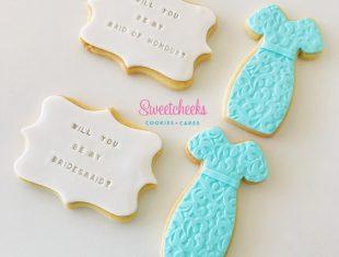 Same sex gay wedding Custom Cookies Melbourne