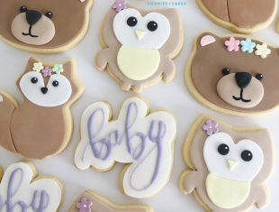 Custom-Baby-Woodland-Shower-Cookies-Melbourne