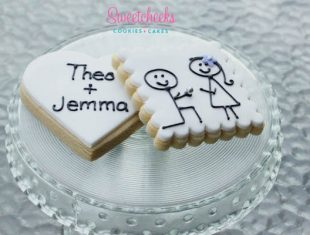 Engagement Party Engagement cookies shipped Australia wide