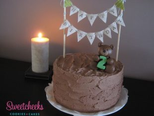 Teddy Bear Butter cream Cake