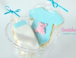 Baby Shower Cookies shipped Australia wide