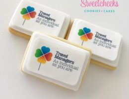 Custom Corporate logo branded cookies Sydney Melbourne Adelaide Canberra Brisbane Perth