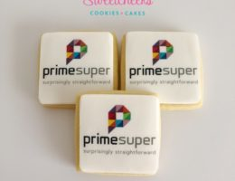 Prime Super Logo branded Cookies Yummy Marketing Shipped Australia Wide