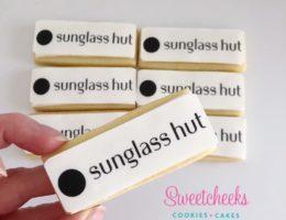 Sunglass Hut Logo Cookies Shipped Australia wide